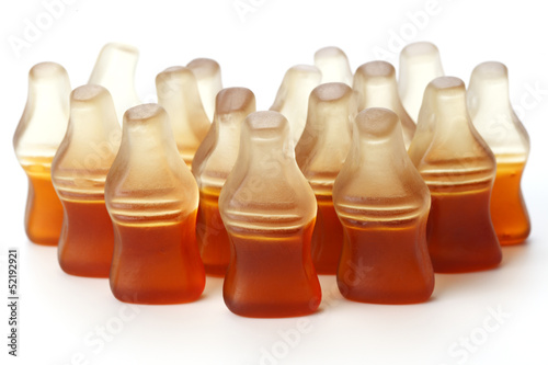 Gummy Cola Bottle Candy