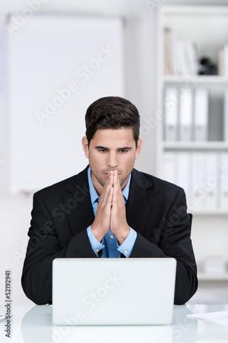 angst vor einem computer absturz