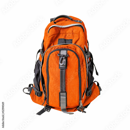 Backpack isolated w/ path - 52194569