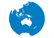 Blauer Planet - Erde - Australien