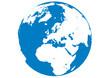 Blauer Planet - Erde - Afrika-Europa