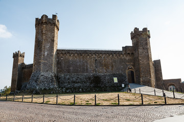 Castle of Montalcino, Tuscany, Italy - Famous Medieval Italian F