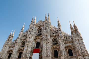 Milan Cathedral (Duomo di Milano) is the Gothic Cathedral Church