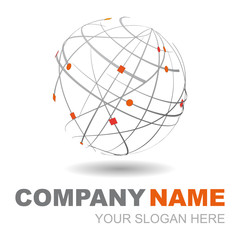 logo design 3d company name