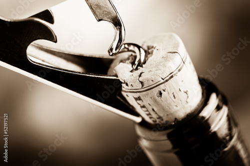 aged fine wine - 52197521