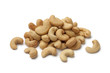 Heap of cashew nuts