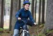 Healthy lifestyle - teenage girl biking