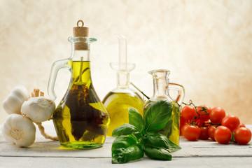 flavored  olive olis with genuine ingredients