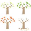 four seasons simple tree