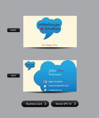 Visitenkarte Vorlage 03