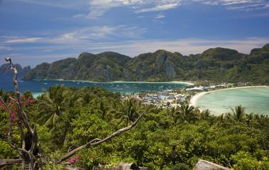 View of Koh Phi Phi island, Thailand
