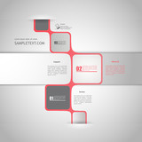 Fototapety Abstract minimalistic bubble style web design