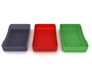 Plastic soap dish does not mirror surface №8
