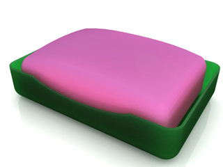 Plastic soap dish does not mirror surface №6