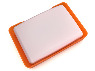 Plastic soap dish does not mirror surface №4
