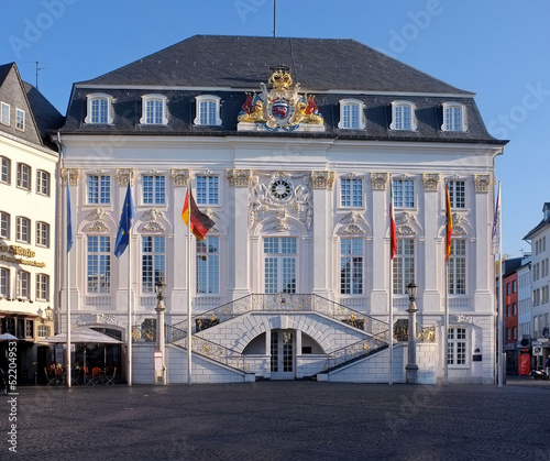 canvas print picture Altes Rathaus in Bonn