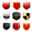 Shield set. Vector