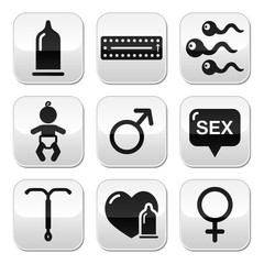 Contraception methods, sex vector buttons sex