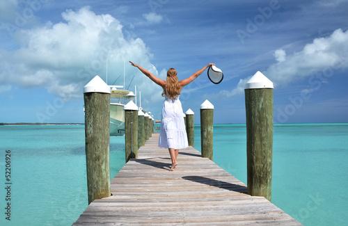 Fototapeten,bahamas,strand,schönheit,blond