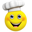 3d cartoon cute chef
