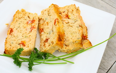 pain de poisson aux tomates