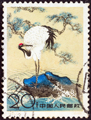 Red-Crowned Crane (China 1961)