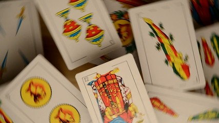 Naipes españoles Spanish playing cards