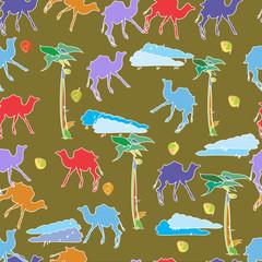 camels pattern