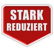Marker rot STARK REDUZIERT