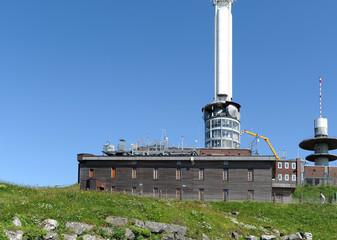 L'observatoire du Puy de Dôme en Auvergne