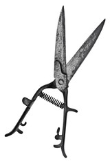 vintage hedge shears