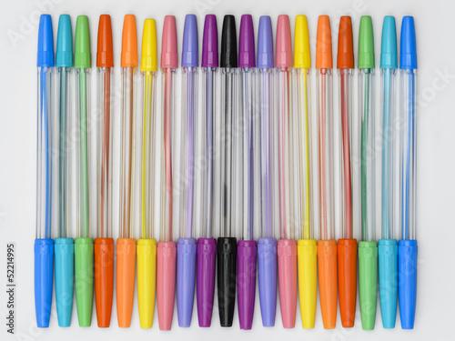 Rainbow Ballpoint Pens