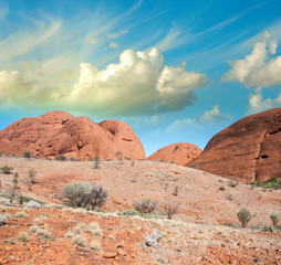 Australia. Red Rocks of Northern Territory