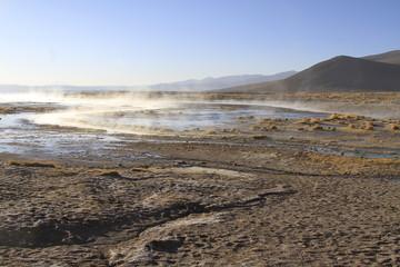 Hot Springs, Eduardo Alveroa, Uyuni Bolivia