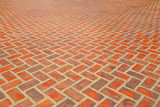Brick footpath background