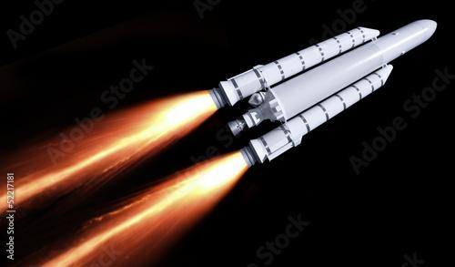 flying rocket - 52217181
