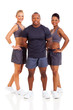 group of personal trainers