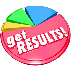 Get Results Pie Chart Achieve Increase Growth
