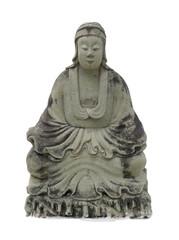 Chinese old  statue at Wat Po in Bangkok, Thailand