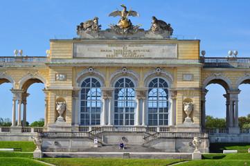 Gloriette bei Schloss Schönbrunn, Wien