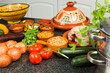 Tajine ingredients