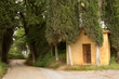 Forest chapel in Tuscany