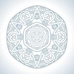 Vector Round Decorative Design Element