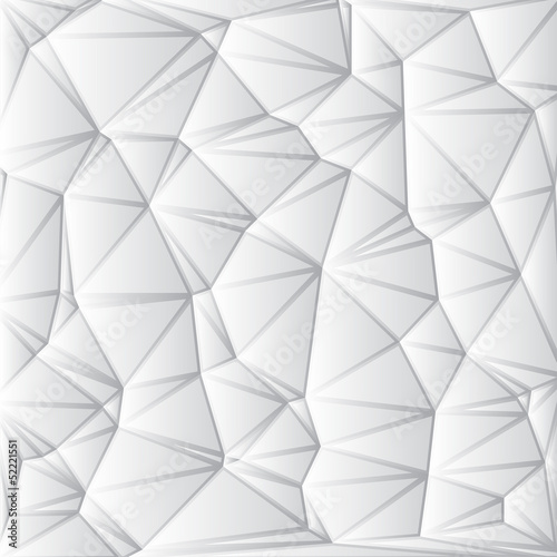 Sticker Abstract White Geometrical Background