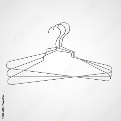 Set of metal hanger