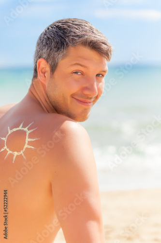 sun male portrait