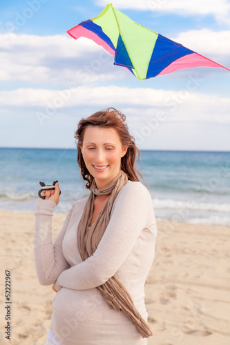 kite flying female