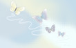 Desktop wallpaper - The Background with butterflies in pastel co