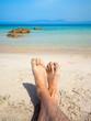 Les pieds dans l'eau en Corse