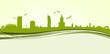 Skyline Warszawa green